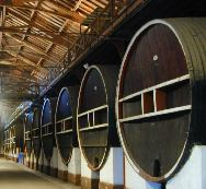 Huge 	Wine Barrels