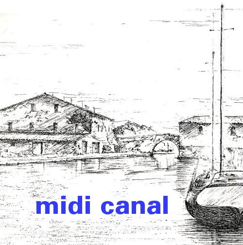 Le Somail village on the Midi Canal